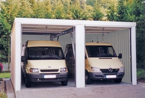 lkw garage xxl garagen f r lastkraftwagen bauwagen. Black Bedroom Furniture Sets. Home Design Ideas