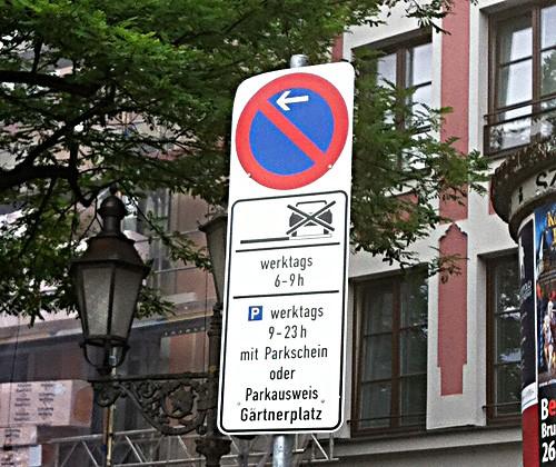 Parken in München